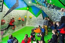 Anchor AIMS games - Rock Climbing