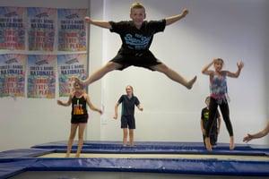 Big Air Gymnastics trampolining