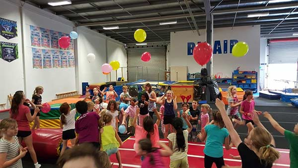 Big Air Gymnastics