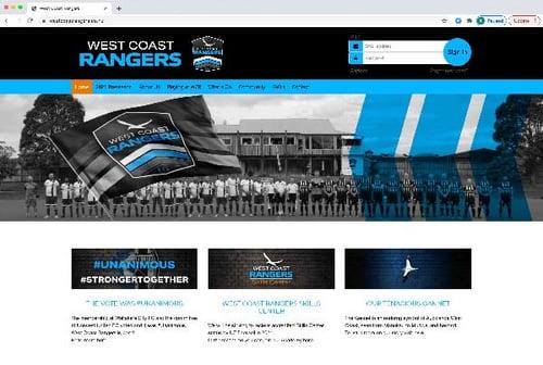 West Coast Rangers Website