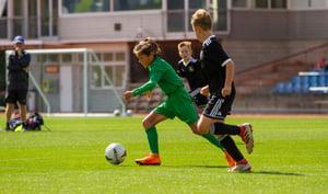 Ellerslie AFC U11s Tournament action shot