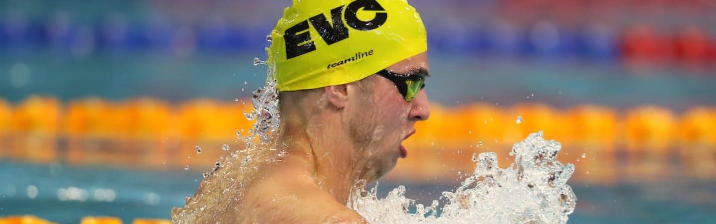 Evolution Swimming athlete