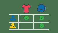 Team merchandise icon