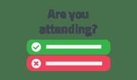 event rsvp icon